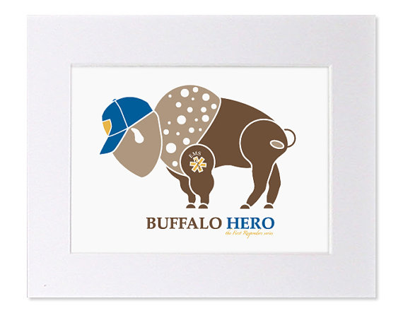 Buffalo Hero EMT Art