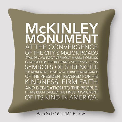 McKinley Monument Pillow