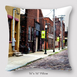 Buffalo Cobblestone Pillow