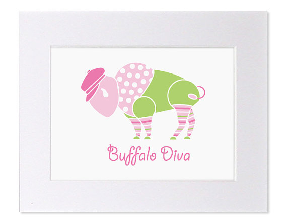 Buffalo Diva Art