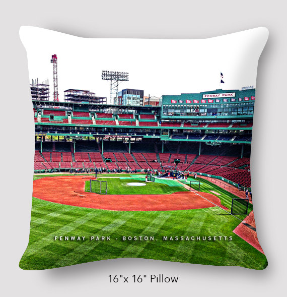 Fenway Park Pillow