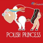 Buffalo polish princess art