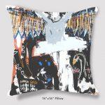 Inspired Buffalo Phil Durgan Gelsey Kirkland Pillow