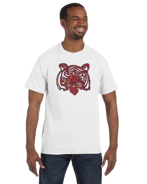Tiger t shirt by michael clarke inspired buffalo for Custom t shirts buffalo ny
