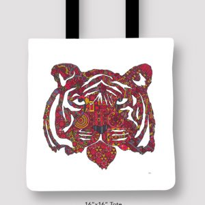 Inspired_Buffalo_Michael_Clarke_Tiger_Tote_16x16