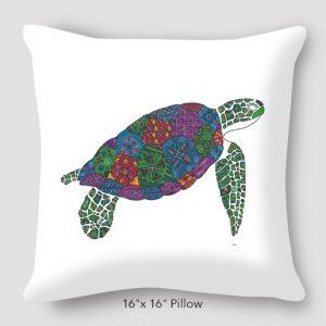 Inspired_Buffalo_Michael_Clarke_Turtle_Pillow_16x16