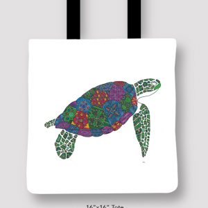 Inspired_Buffalo_Michael_Clarke_Turtle_Tote_16x16
