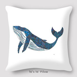 Inspired_Buffalo_Michael_Clarke_Whale_Pillow_16x16