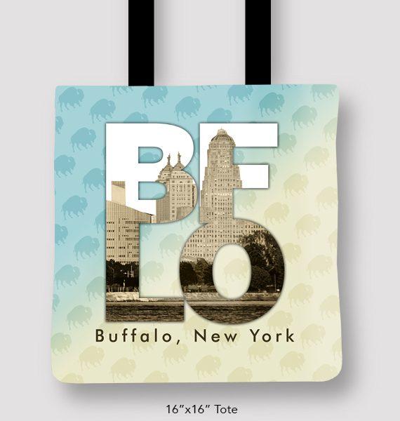 Inspired Buffalo_Marinette_Tim_Kozlow_Love_BFLO_Tote