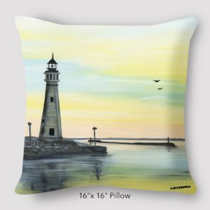 Inspired Buffalo_Vinny_Alejandro_Lighthouse_Pillow_1616