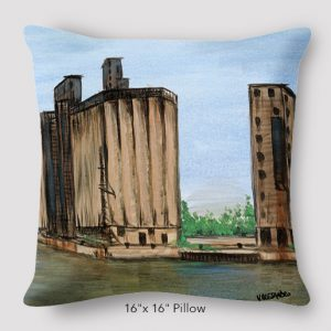 Inspired_Buffalo_Vinny_Alejandro_Moments_of_my_youth_Pillow_16x16