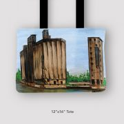 Inspired_Buffalo_Vinny_Alejandro_Moments_of_my_youth_Tote_12x16