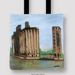 Inspired_Buffalo_Vinny_Alejandro_Moments_of_my_youth_Tote_16x16