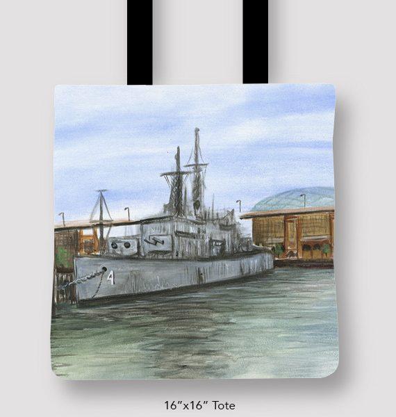 Inspired_Buffalo_Vinny_Alejandro_shipyard_Tote_16x16