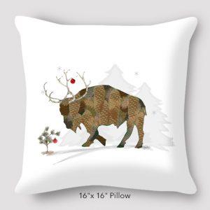 akison-kurek_pineconebuffalo_16x16_pillow
