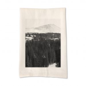inpsired_buffalo_michele_goldfarb_ski_lift_mountain_teatowel