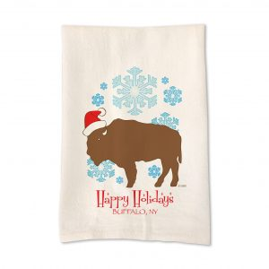 inspired_buffalo_david_manny_hap_holidays_tea_towel