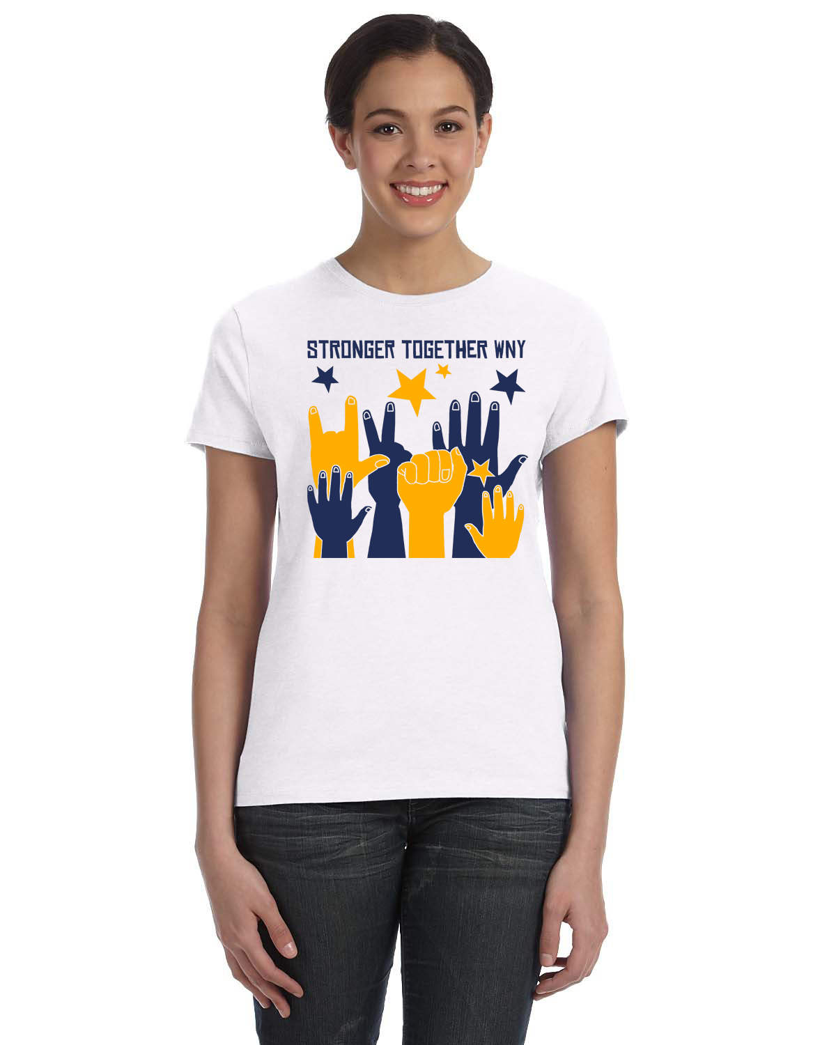 Stronger Together WNY T-shirt