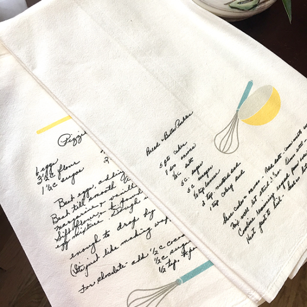 Personalized Tea Towels